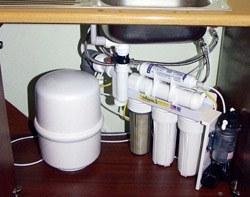 Установка фильтра очистки воды в Орле, подключение фильтра для воды в г.Орёл